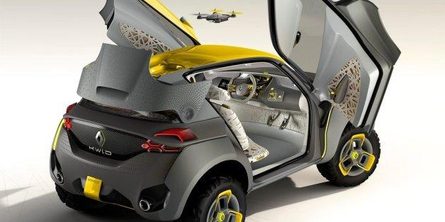 Le nouveau modèle de Renault promet un drone qui survole l'automobile le long d'un trajet
