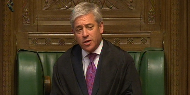 Commons Speaker John Bercow responds to Nigel Evans after he made a personal statement to MPs in the House of Commons, London following his resignation as Deputy Speaker after the Ribble Valley MP quit when it emerged that he is to be charged with sex offences against seven men.