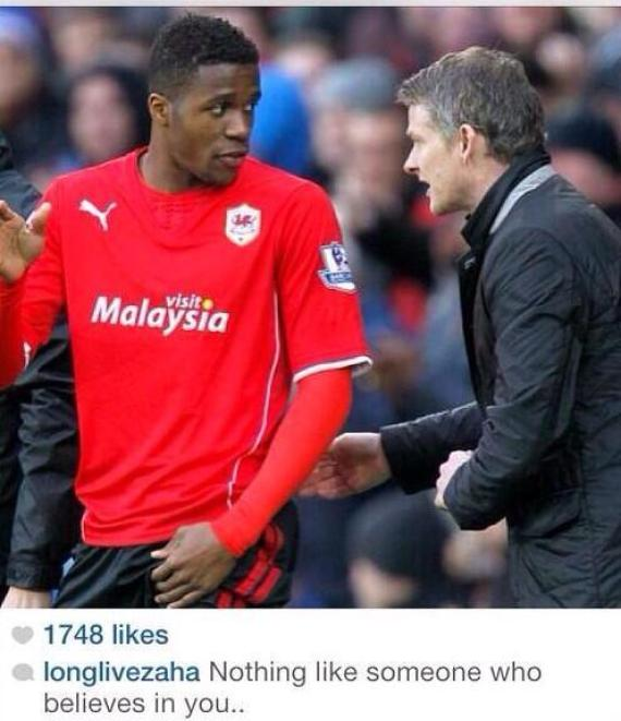 Zaha dating moyes