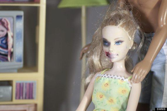 domestic violence barbie