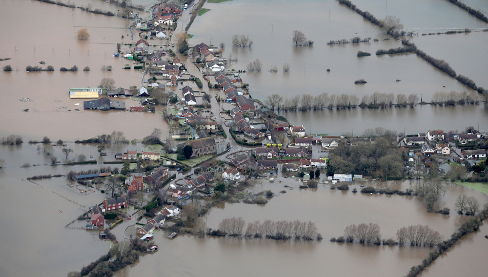 floods aerial