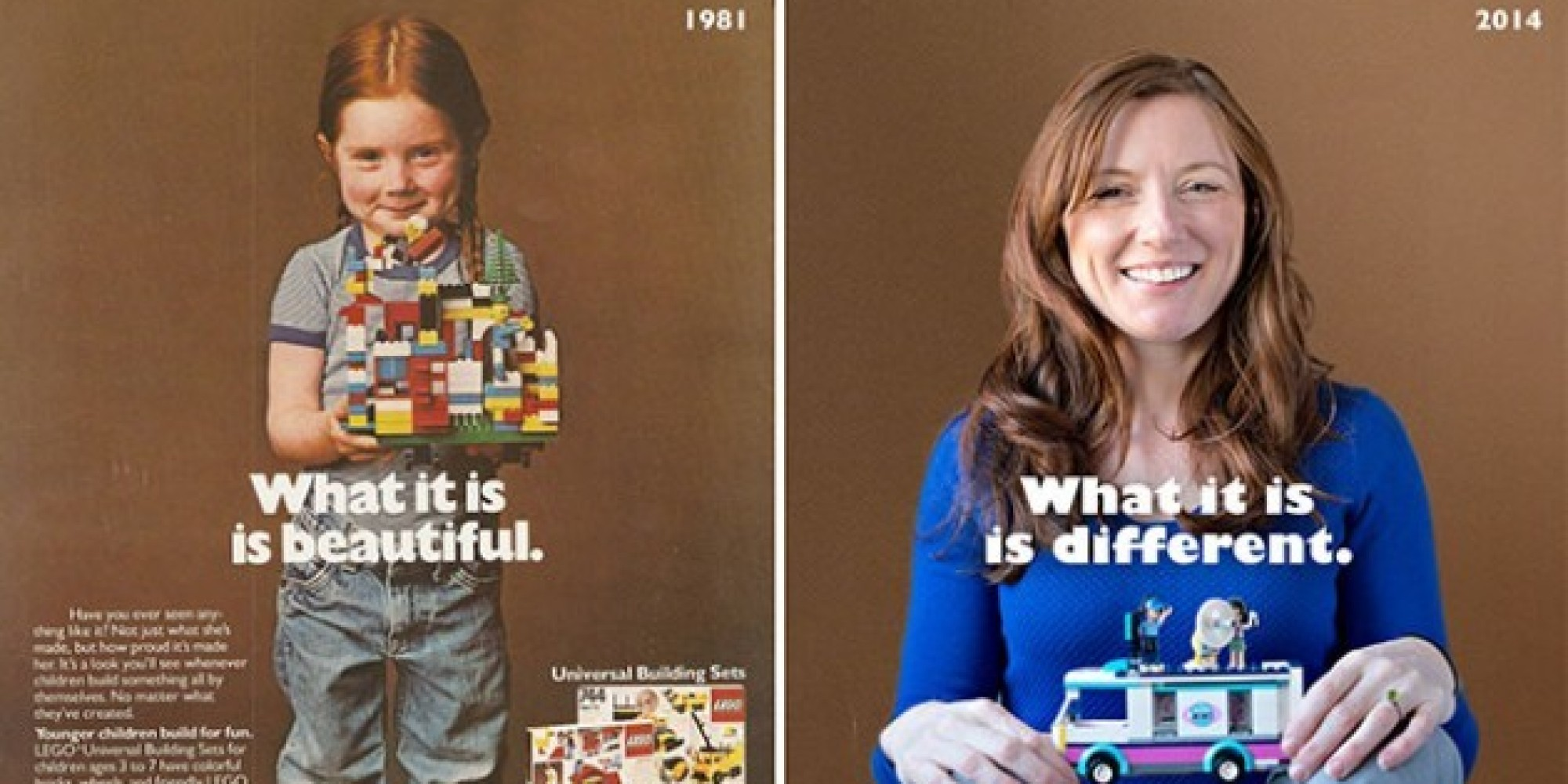 Then-And-Now Photos Of The Girl From That Iconic LEGO Ad Show Just How Much  Has Changed   HuffPost