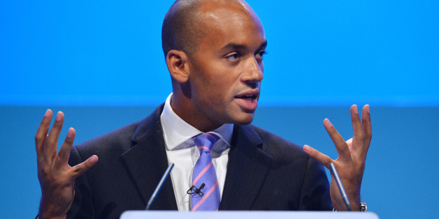 Britain's Shadow Business Secretary Chuka Umunna addresses delegates during the second day of the Labour party conference in Brighton, Sussex, south England on September 23, 2013. Britain's main opposition Labour party kicked off its annual conference on September 22 with leader Ed Miliband under pressure amid sliding poll ratings 18 months before a general election.AFP PHOTO / BEN STANSALL        (Photo credit should read BEN STANSALL/AFP/Getty Images)