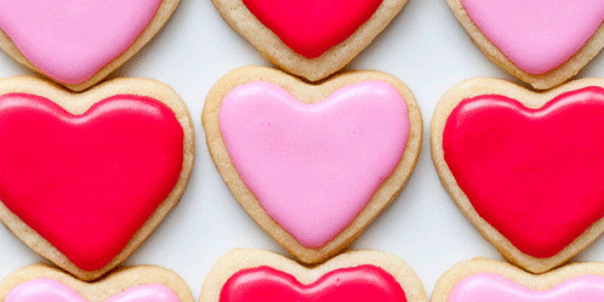 heart shaped dessert recipes for valentines day photos huffpost - Valentines Day Sweets