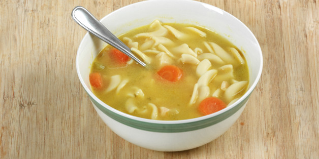 Prepared soups are a fantastic option to have in your cupboard if you are ever too busy or too sick to make soup from scratch. They last a really long time, too, so they'll probably be a main food.