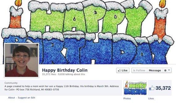 colin facebook