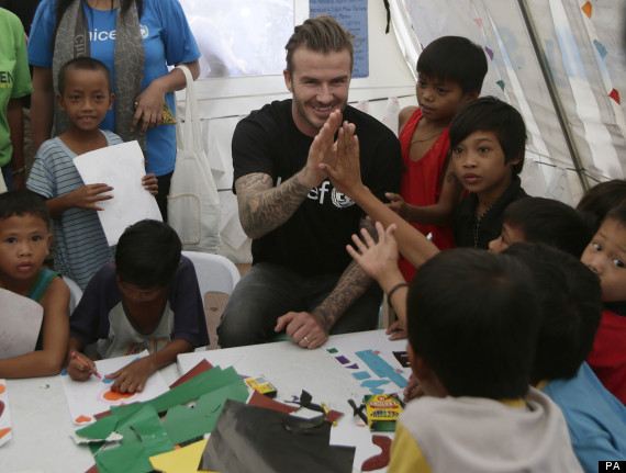 david beckham phillipines