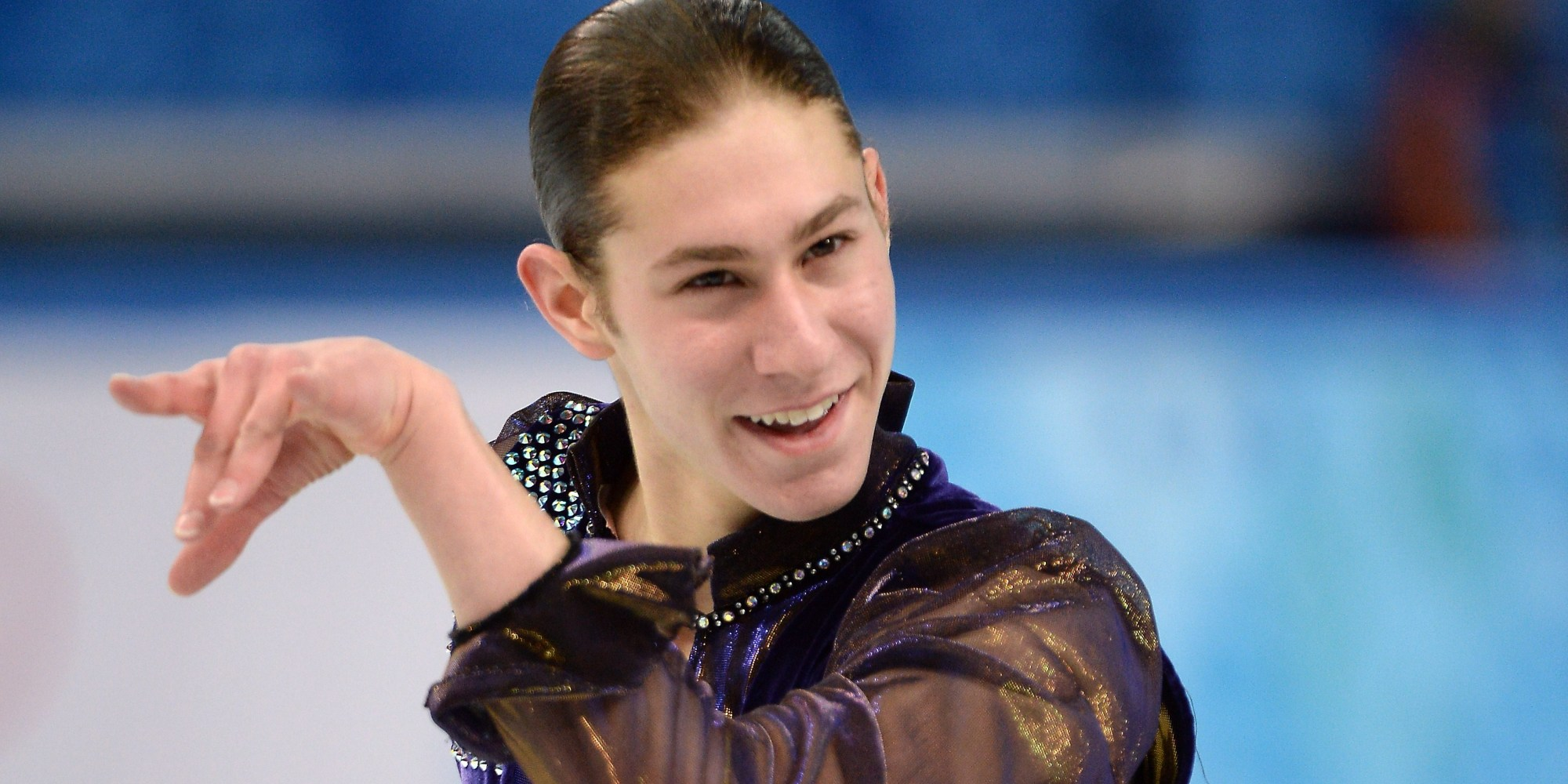 Jason Brown Skated To Prince S The Question Of U And Is