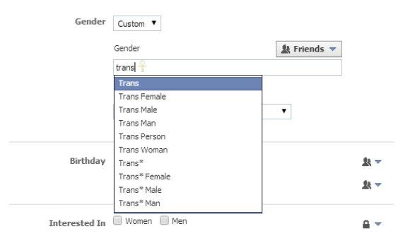 trans facebook
