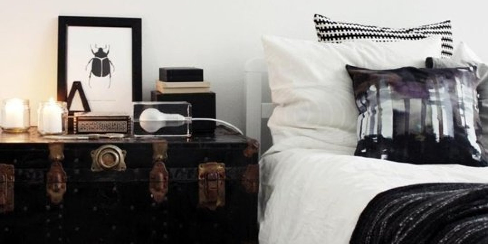 10 Unusual Things To Use As A Nightstand