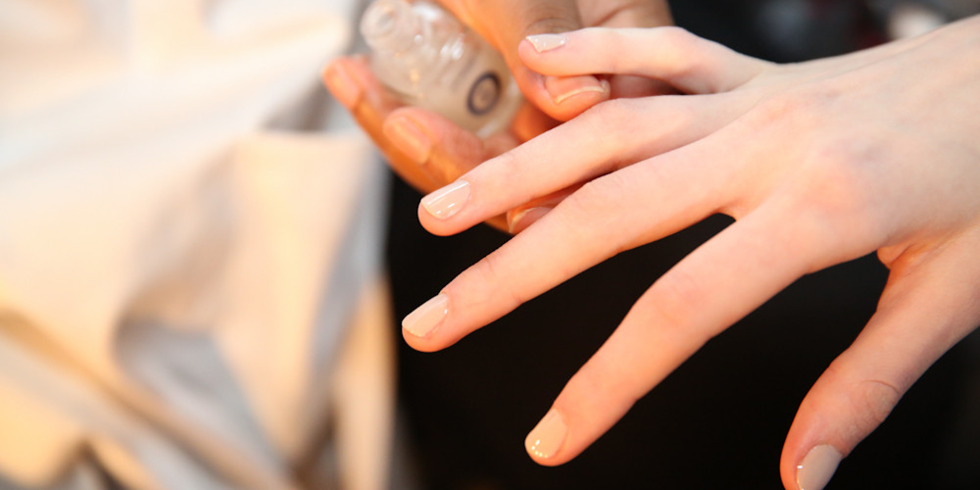 Fall\'s Nude Nail Trend Is For The Ultimate Lazy Girl (PHOTOS) | HuffPost