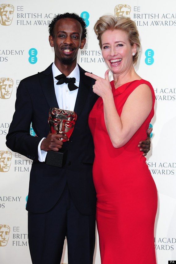BAFTAS 2014: 'Captain Phillips' Barkhad Abdi Steals Gong From A-List Field In Debut Role