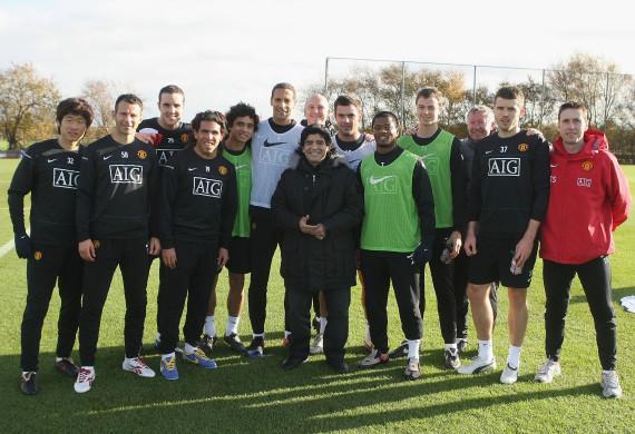 diego maradona manchester united