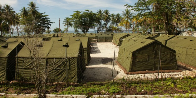 The Manus Island Regional Processing Facility, used for the detention of asylum seekers that arrive by boat
