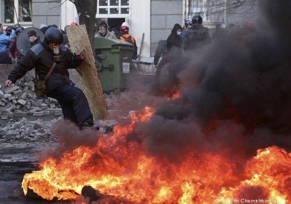 ucrania protesto