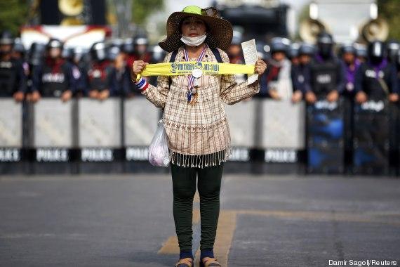 tailandia protesto