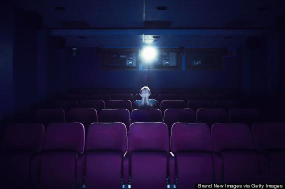 cover eyes at movies