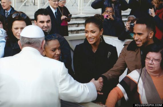 lewis hamilton pope