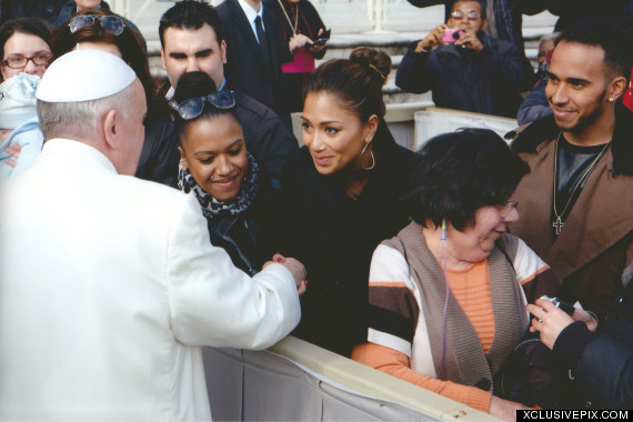 nicoel scherzinger pope francis