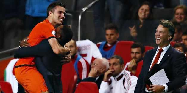 Van Persie is Holland's all-time record goalscorer