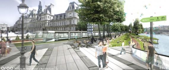tram central park