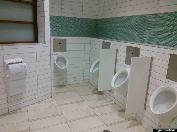victoria mall urinals
