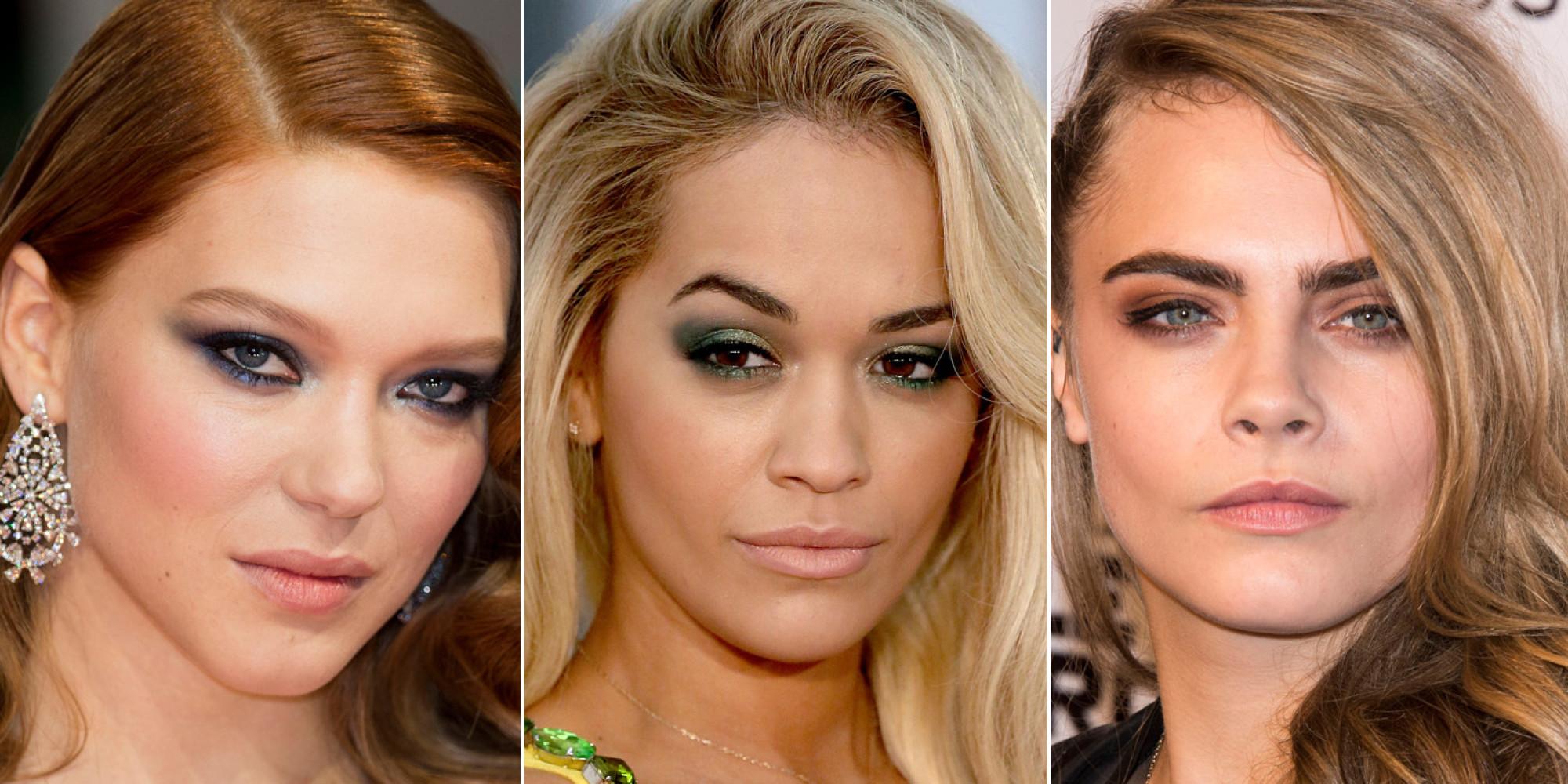 Celebrities In Smoldering Eye Makeup Top This Week S Best