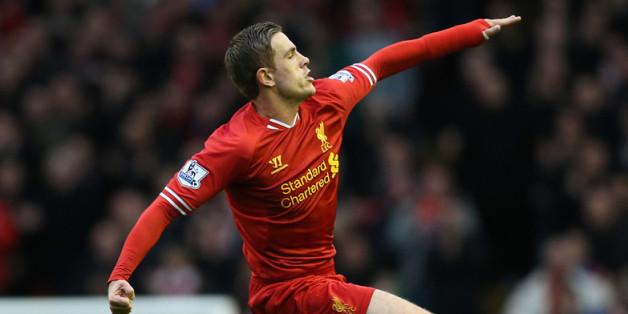Henderson celebrates his winning goal