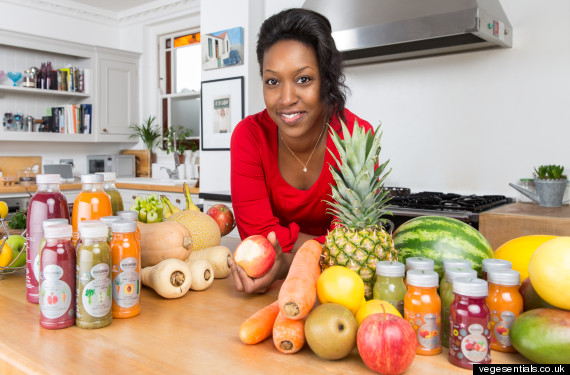 how this mum of three started the uk s first fruit and veg juice company