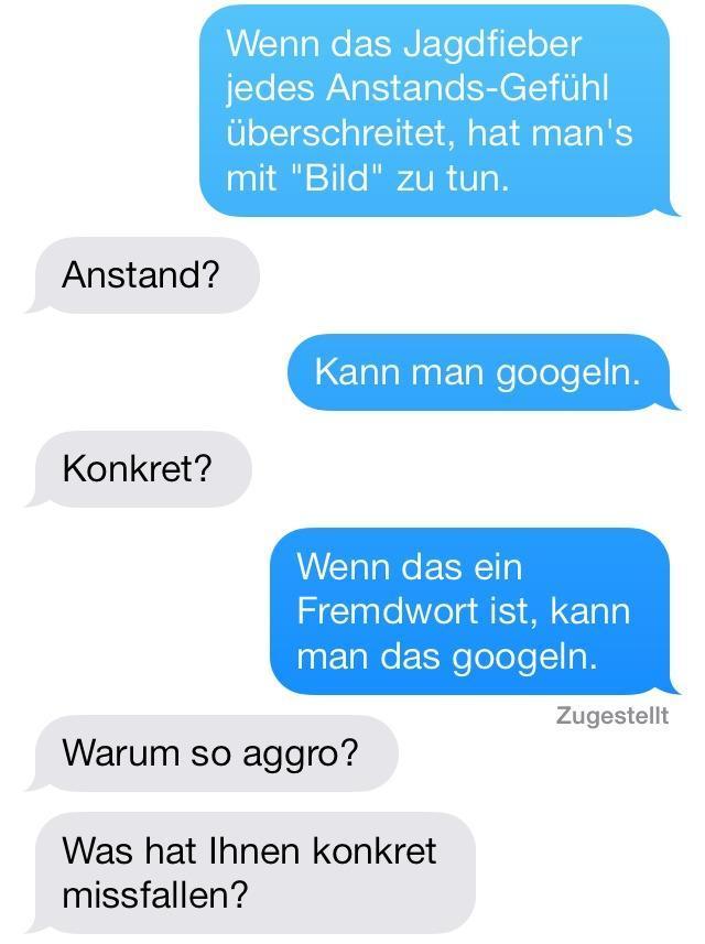 Gute Konversationsthemen für SMS