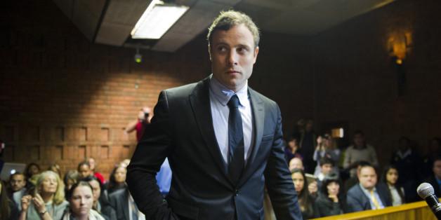 Oscar Pistorius appears in the Pretoria Magistrates court (file photo)