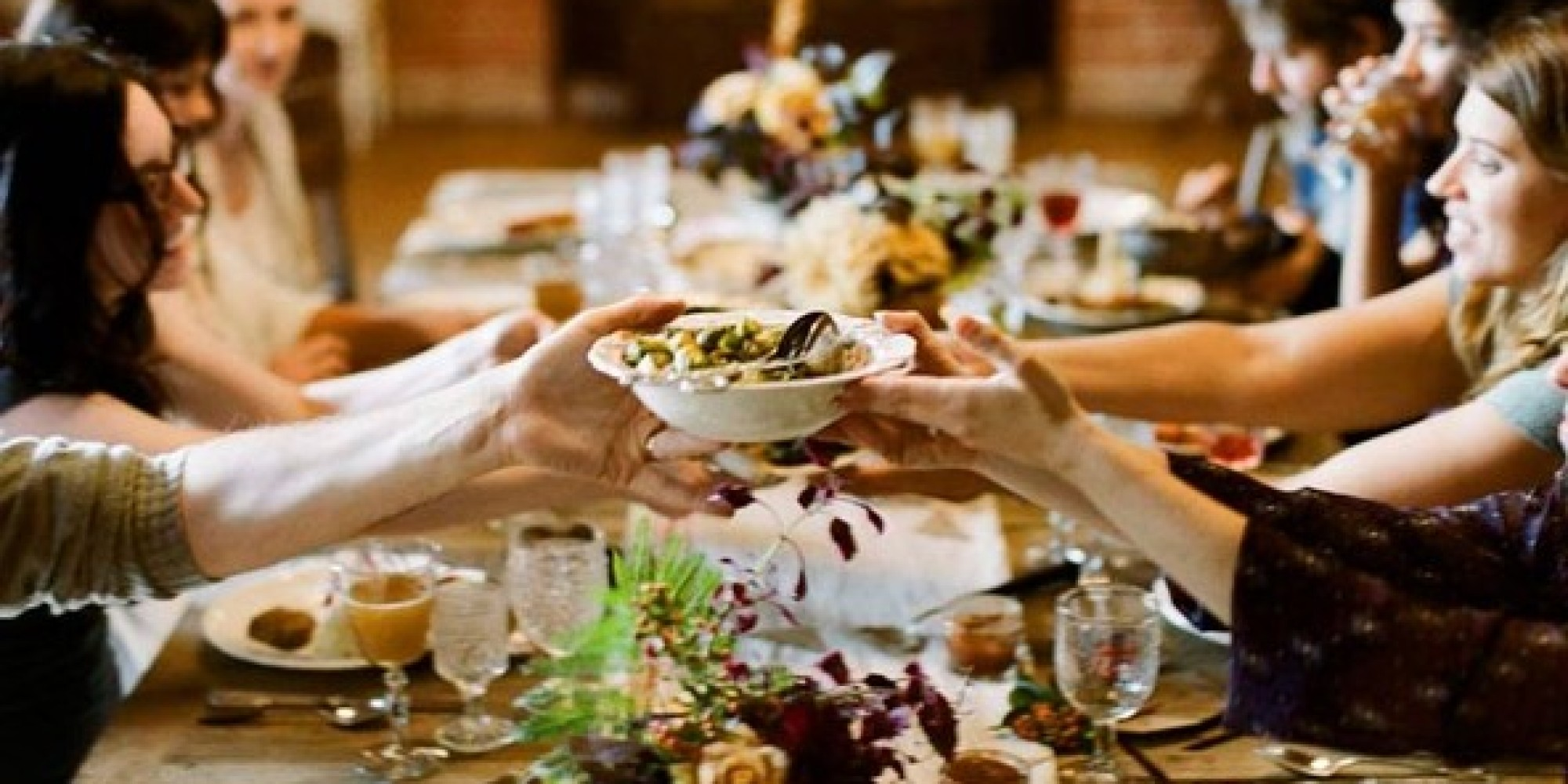 3 reasons to consider a family style wedding menu huffpost for Family diner