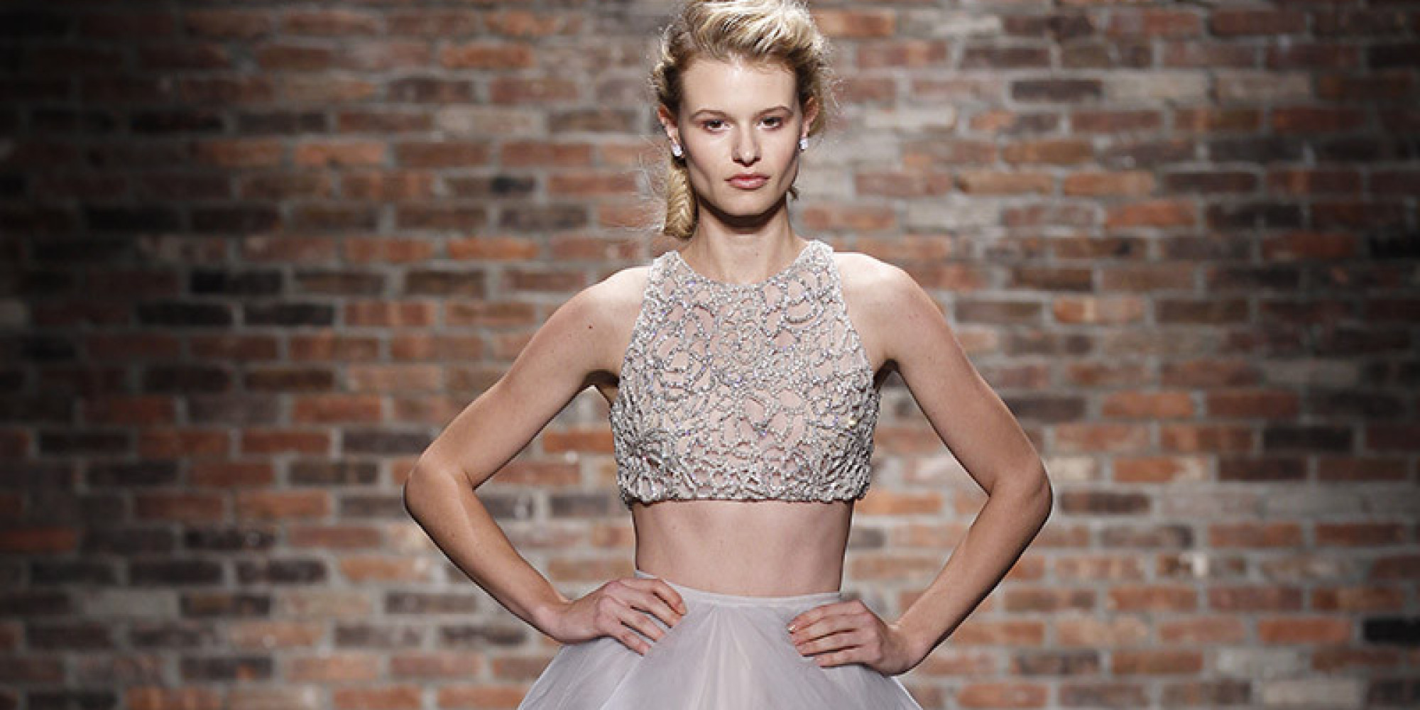 These Risqu 233 Wedding Gowns Are For Daring Brides Only