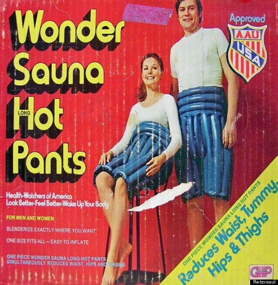 wonder sauna hot pants