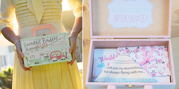 7 Creative Ways To Propose To Your Bridesmaids Huffpost
