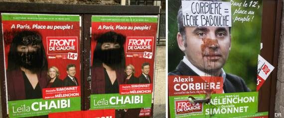 affiches racistes