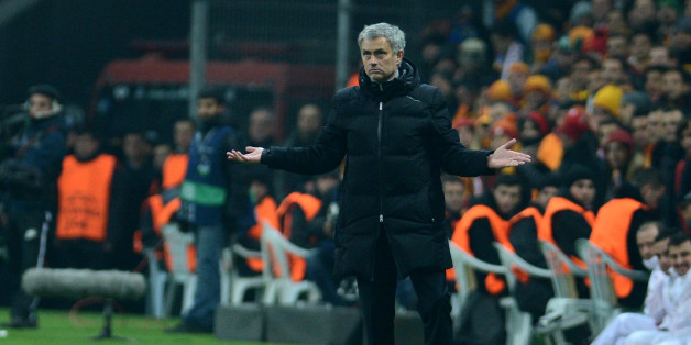 Mourinho was unhappy with