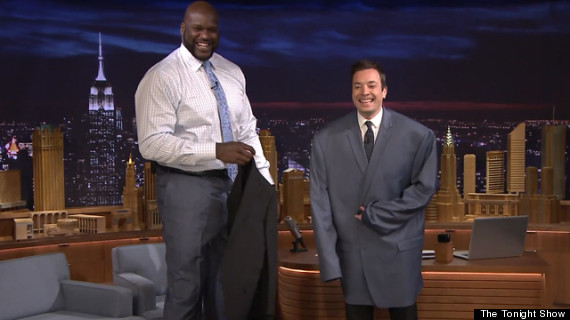 jimmy fallon shaquille oneal