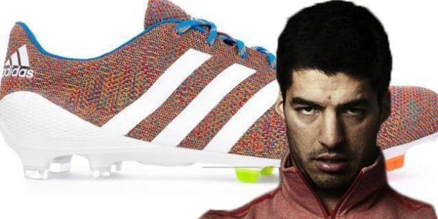 online store 38864 8a0b9 Luis Suárez To Wear Knitted Boots For Liverpool At Manchester United  (PICTURES)