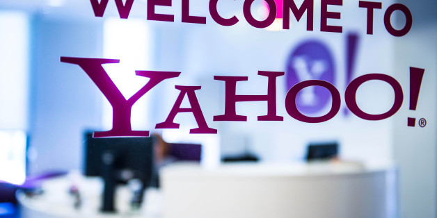 A welcome message sits on the window in the reception area of the sales office at the Yahoo Inc. headquarters in Barcelona, Spain, on Thursday, Feb. 20, 2014. A smart city initiative, which also involves rolling out electric vehicles and bikes and making neighborhood blocks' energy output self-sufficient, widescale deployment of sensors and quick-response codes to 8,000 points around the city by the end of the year to provide location-based information to anyone with a smartphone, could save Barcelona 3 billion euros in the next decade. Photographer: David Ramos/Bloomberg via Getty Images