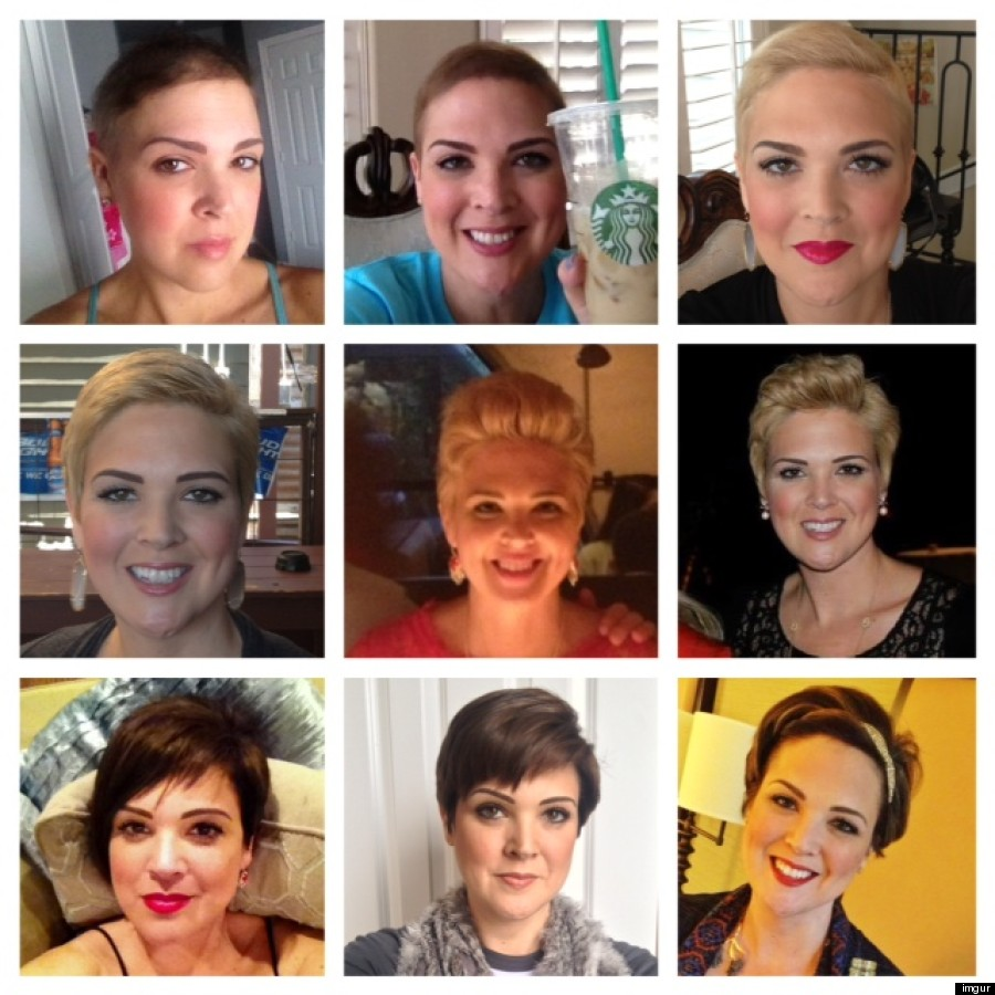 Womans Hair Transformation After Her Chemotherapy Is Beautiful