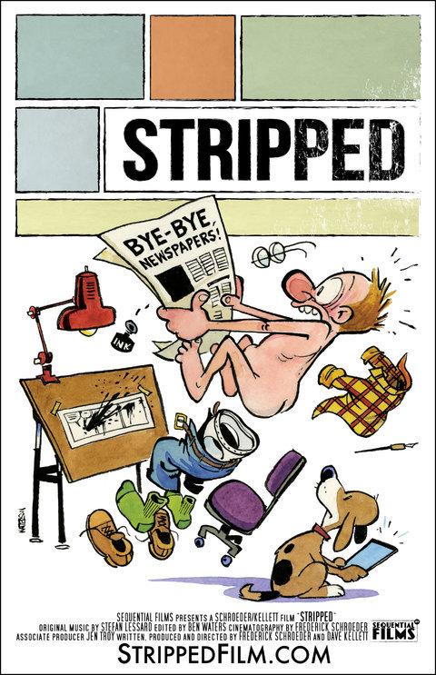 stripped dessin