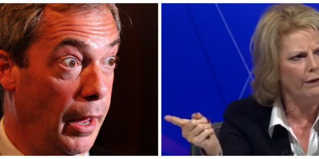 Anna Soubry Says Her 'Question Time' Spat With Nigel Farage 'Wobbled' The Ukip Leader