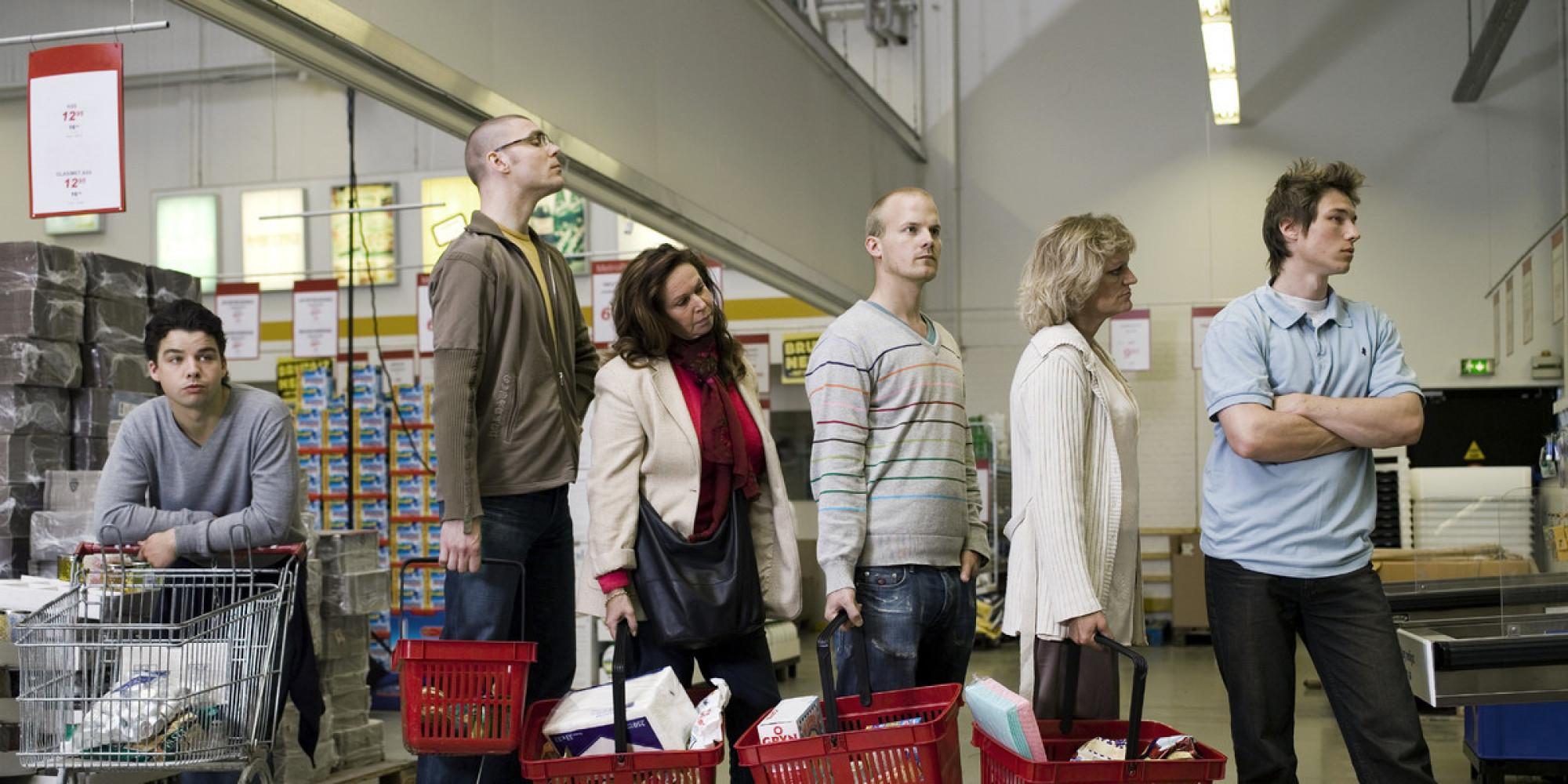 Store Checkout Line