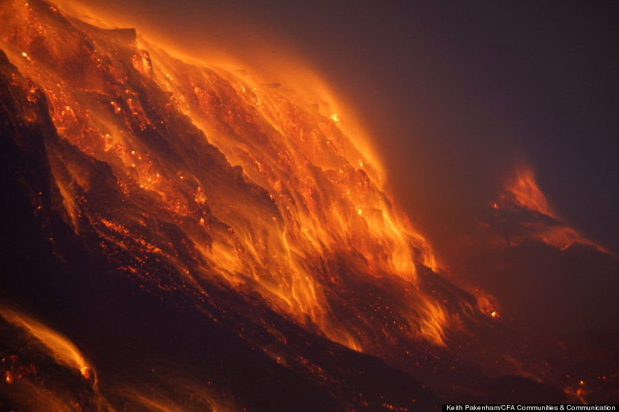 australia coal mine fire 2