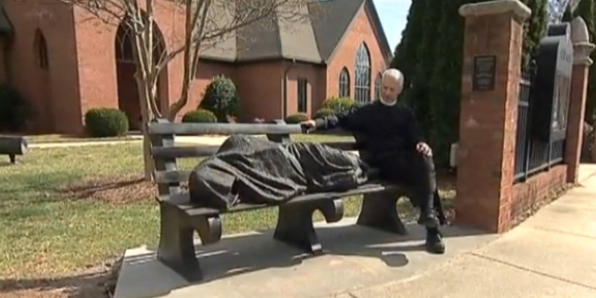 O Homeless Jesus Facebook on Do Not Care About What People Think In Church