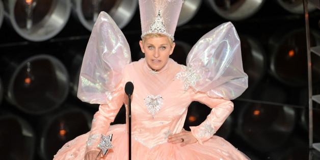 Ellen DeGeneres' Glinda The Good Witch Costume Brings On The ...
