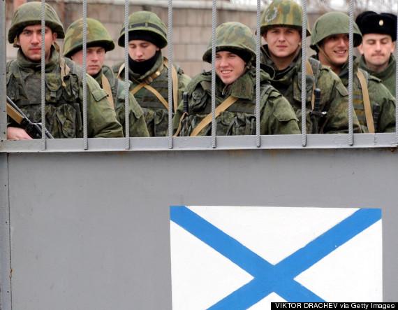 crimea troops