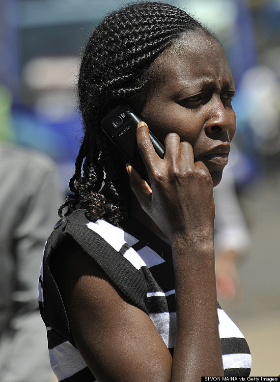 africa women mobile phone