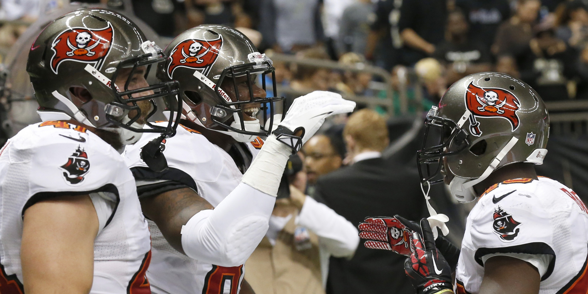 ... Buccaneers New Uniforms Tampa Bay Unveils New Jersey Design HuffPost ... 1410f5e8d29
